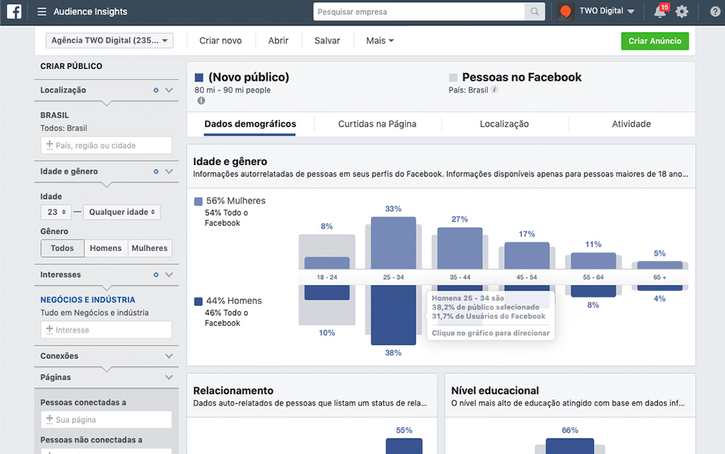 Facebook Audience Insights - TWO Digital